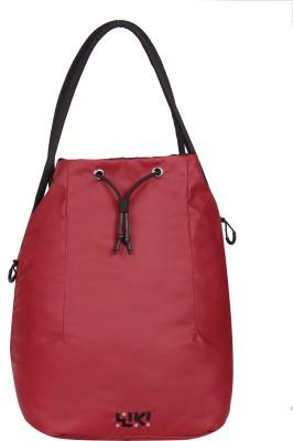 Wildcraft Women Casual Red Nylon Sling Bag