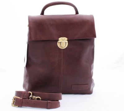 Delphi Leather Women Brown Genuine Leather Sling Bag
