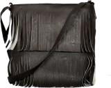 Speed Dot Women Brown Rexine Sling Bag