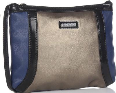 Peperone Girls, Women Gold PU Sling Bag