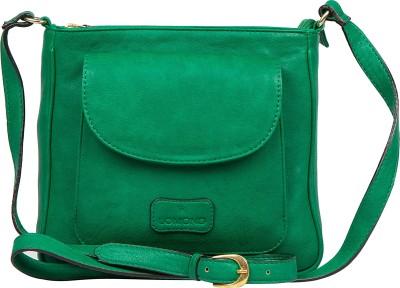 Lomond Women Casual Green PU Sling Bag