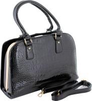 PAULMAN Women Black PU Hand-held Bag