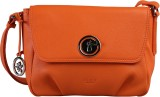 ILEX London Women Casual Orange Genuine ...