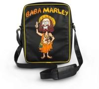 Happily Unmarried Men Casual Black PU Sling Bag best price on Flipkart @ Rs. 1750