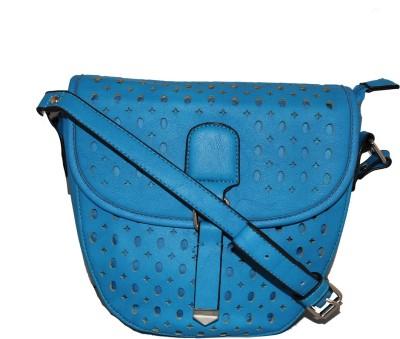 Damit Girls, Women Blue PU Sling Bag