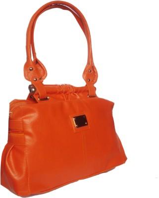 WEEBILL Women Orange PU Shoulder Bag