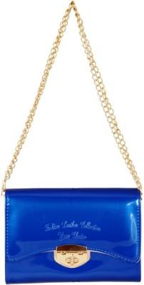 Lizzie Women Blue PU Sling Bag
