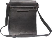 Chanter Men Black Leatherette Sling Bag