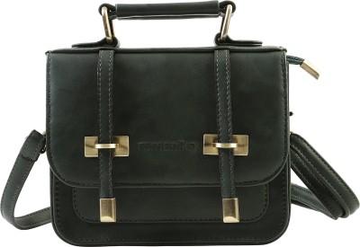 Remanika Women Green PU Sling Bag