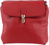 Tamirha Women Maroon Rexine Sling Bag