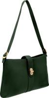 JFL - Jewellery for Less Girls Green Genuine Leather Sling Bag