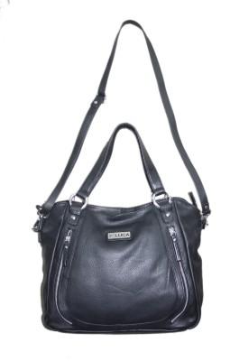 Luca Women Casual Black Genuine Leather Sling Bag