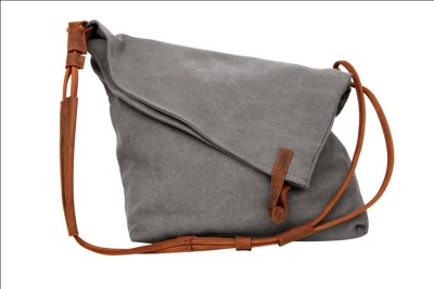 Just Women Girls Casual Grey Genuine Leather Sling Bag