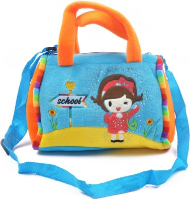 Koochie-Koo Girls Orange Cotton Sling Bag