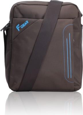F Gear Men, Women Casual Brown Polyester Sling Bag