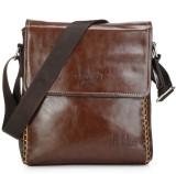 Frosty Fashion Women Brown PU Sling Bag