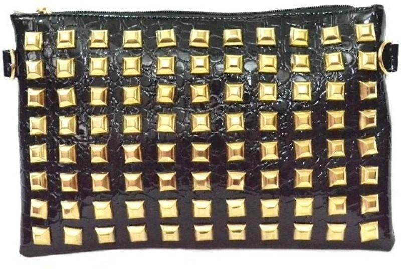 Cathriem Women Casual, Evening/Party Black PU Sling Bag DI223C