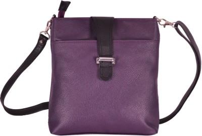Hawai Women Casual Purple PU Sling Bag