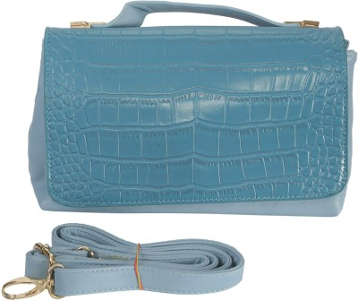 Knighthood Women Blue PU Sling Bag