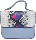 RaviCollections Women Blue Rexine Sling ...