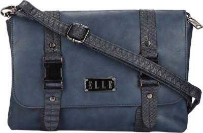 Elle Women Blue PU Sling Bag