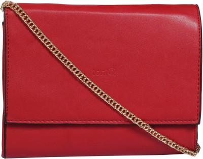 ToniQ Girls, Women Casual Red PU Sling Bag