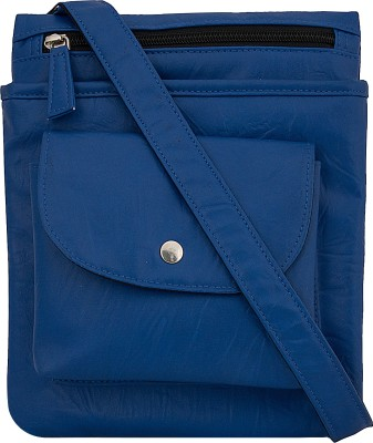 toog Women, Girls Blue Leatherette Sling Bag