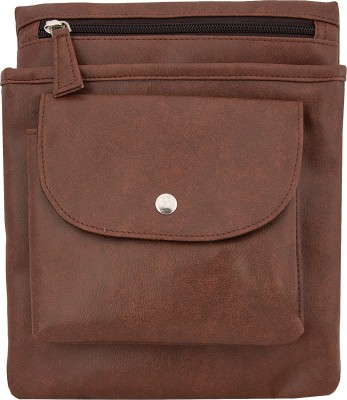 toog Women, Girls Brown Leatherette Sling Bag