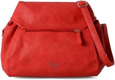 Baggit Women Red PU Sling Bag