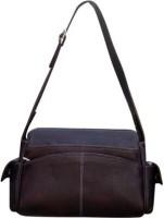 Kudos Girls Brown Leatherette Hand-held Bag