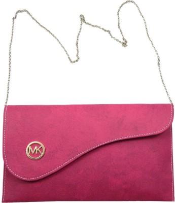 mezzo99 Women, Girls Pink PU Sling Bag