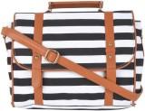 Kleio Women Black Canvas Sling Bag