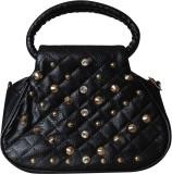 First loot Women Black Rexine Sling Bag