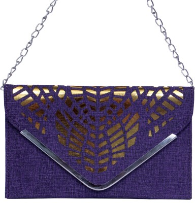zasmina Girls, Women Purple PU Sling Bag