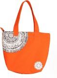 Orange Bunch Women Orange Canvas Shoulde...