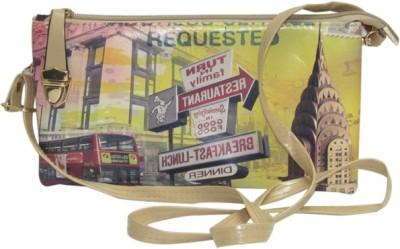 Laviva Girls Multicolor Flex Sling Bag