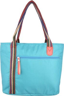 Thebagzone Women Blue Nylon Shoulder Bag