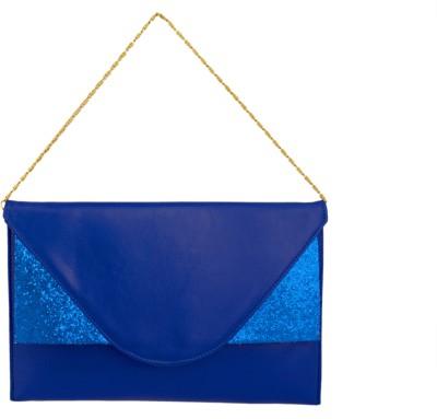 Cheery Women Blue PU Sling Bag