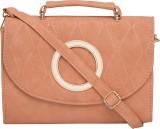 Satchel Bags Women Pink PU Sling Bag