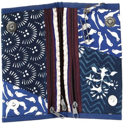 Cute Things Girls, Women Blue Cotton Clutch