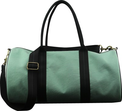 Angesbags Women Green Canvas Sling Bag