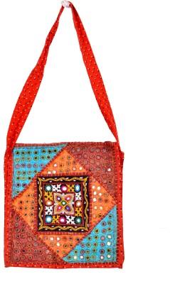 Shushila's Girls Casual Multicolor Cotton Sling Bag