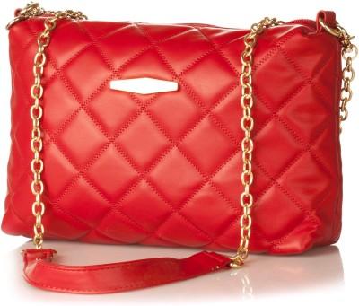 Stylehoops Girls, Women Evening/Party Red PU Sling Bag