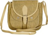 Belladona Women Beige PU Sling Bag
