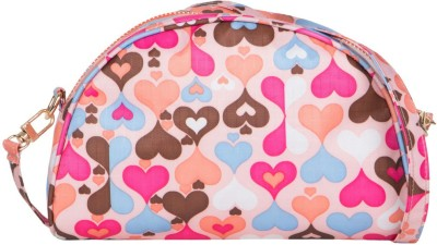 Cappuccino Girls Multicolor Nylon Sling Bag