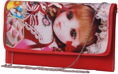 Notbad Girls Casual Red PU Sling Bag