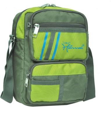 Hawai Men, Women Green Polyester Sling Bag