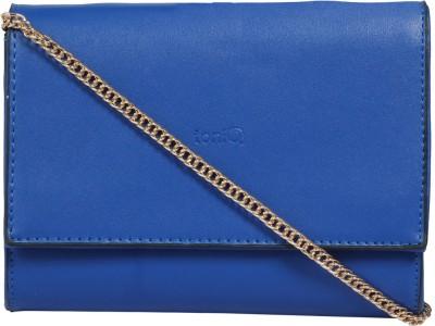 ToniQ Girls, Women Casual Blue PU Sling Bag