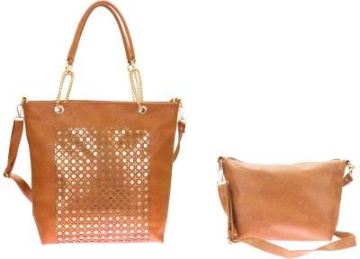 Velina Girls Brown PU Shoulder Bag