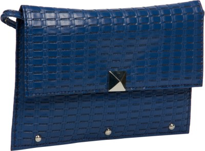 Adaira Girls Casual Blue PU Sling Bag